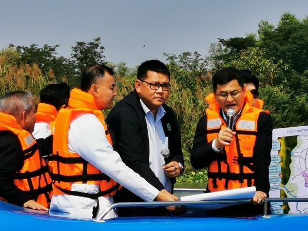 สทนช. ติดตามสถานการณ์ในแม่น้ำเจ้าพระยารับมือภัยแล้ง