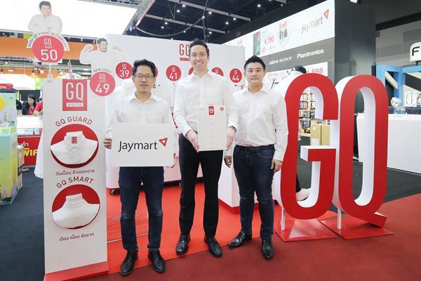 พันธมิตรสายเทค Jaymart ร่วมกับ GQ Apparel ผสานจุดเด่นเรื่องเทคโนโลยีดัน GQWhite(TM) ที่สุดแห่งเสื้อ สร้างประสบการณ์ใหม่ให้ผู้บริโภคในร้าน Jaymart