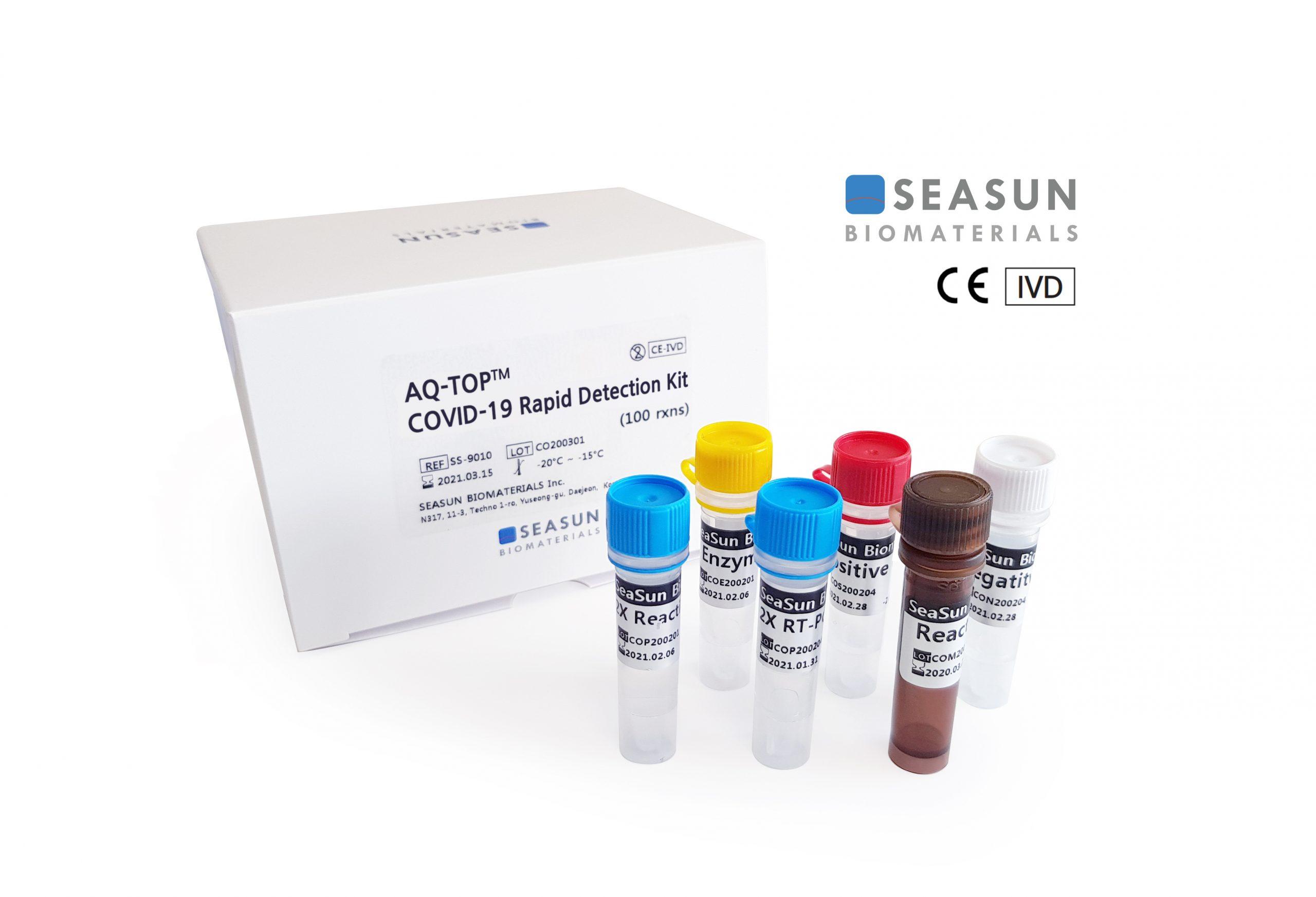 SEASUN BIOMATERIALS เตรียมเปิดตัวชุดตรวจโควิด-19 ระดับโมเลกุล รู้ผลอย่างรวดเร็ว
