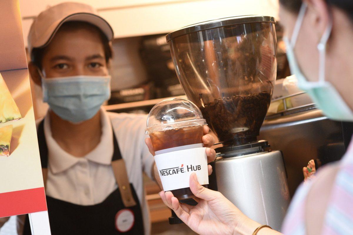 เนสกาแฟ ฮับ ส่งกาแฟสดแทนคำขอบคุณบุคลากรทางการแพทย์ใน 5 สาขาทั่วกรุงเทพฯ