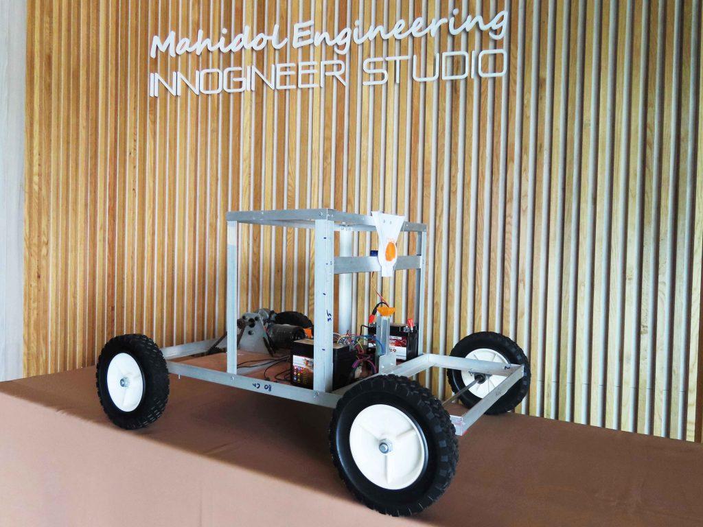นวัตกรรุ่นใหม่วิศวะมหิดล สร้างหุ่นยนต์หยอดเมล็ดข้าวโพดอัตโนมัติ