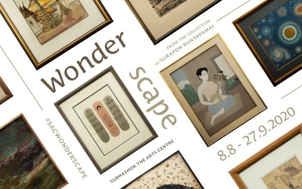 """หอศิลป์ SAC เปิดนิทรรศการ """"Wonderscape"""" รวมผลงานของ 5 ศิลปินชั้นครูของประวัติศาสตร์ศิลปะไทย"""