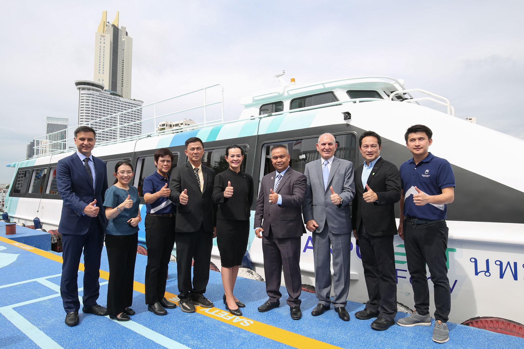 สกุลฎ์ซี อินโนเวชั่น เลิกทดลอง เริ่มใช้จริงเชิงพาณิชย์ เรือไฟฟ้า VIP เที่ยวทะเลไทย
