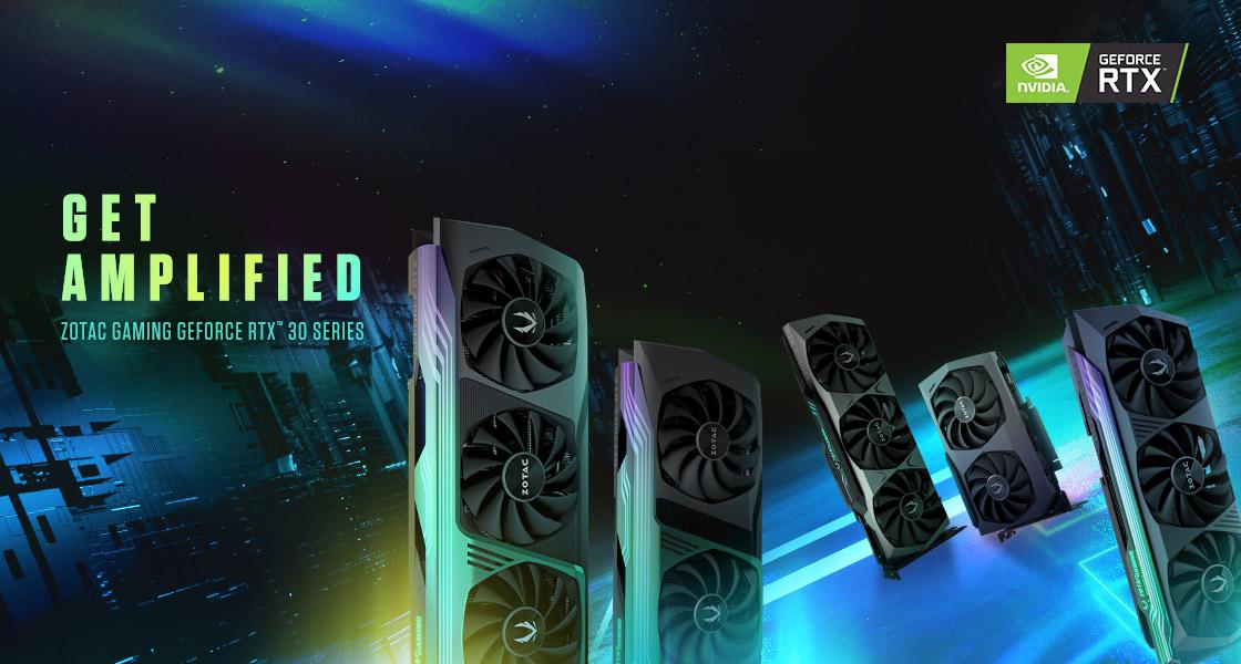 ยกระดับการเล่นเกมด้วยการ์ดจอ ZOTAC GAMING GeForce RTX 30 Series