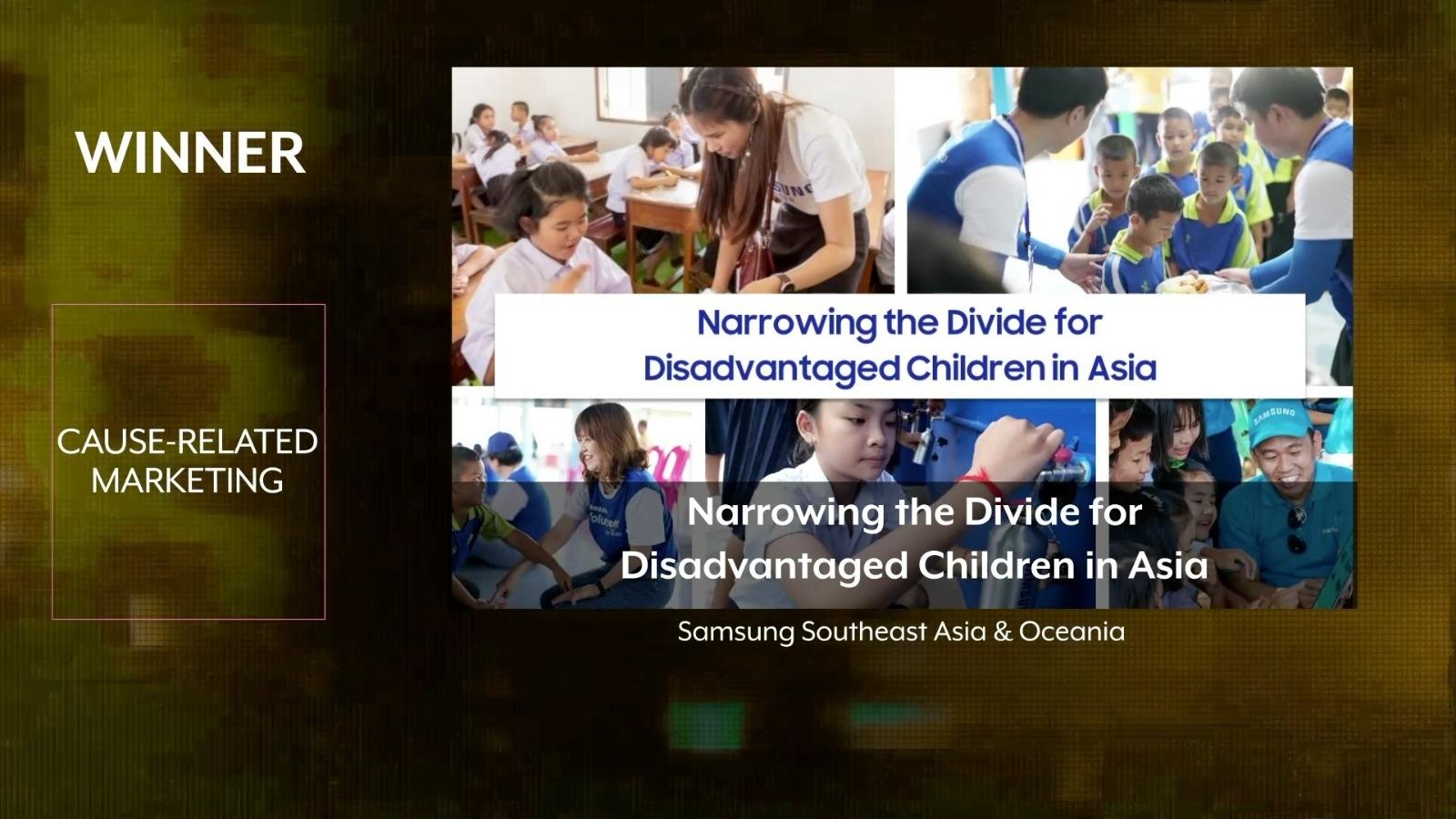 โครงการ Samsung Love & Care คว้ารางวัล จากงาน Asia-Pacific SABRE Awards 2020