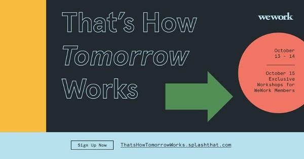 พลาดไม่ได้! WeWork จัดสัมมนาออนไลน์ เจาะลึกกลยุทธ์การดำเนินธุรกิจในอนาคต