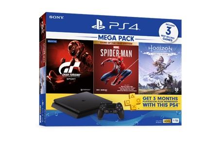 """16 ต.ค. นี้ พบกับ 2 ชุดเครื่องเกมบันเดิลใหม่! สุดคุ้ม """"MEGA PACK Bundle"""" และ """"PlayStation(R)4 Pro Bundle"""" มาพร้อมเกมสุดฮิตให้จับจองเป็นเจ้าของ"""