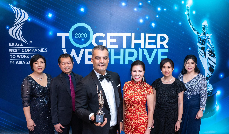 แม็คโคร รับรางวัล HR Asia Awards 2020 หนึ่งในองค์กรน่าทำงานมากที่สุดในเอเชีย!