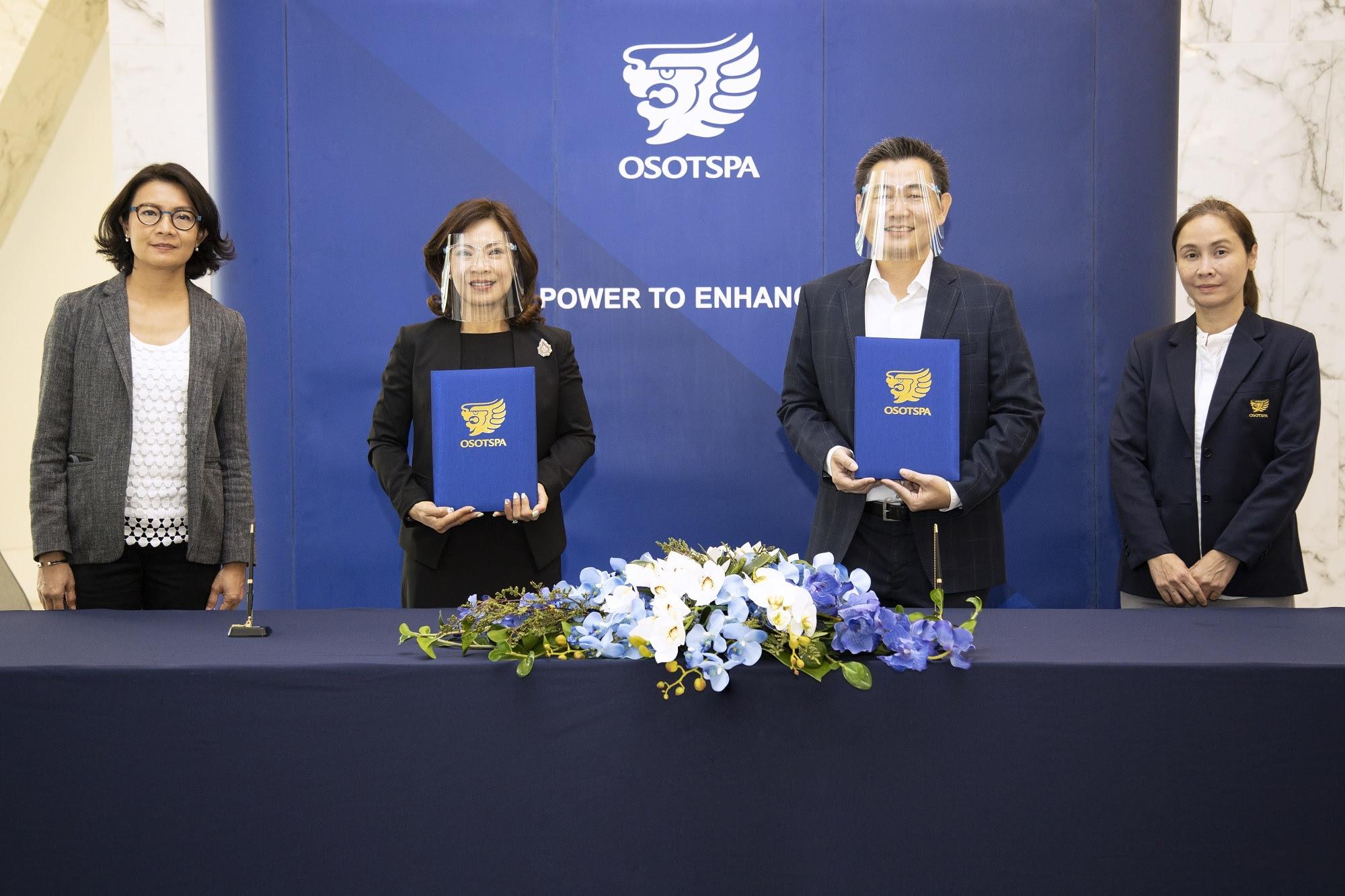 โอสถสภา ผู้ผลิตและจำหน่ายสินค้าอุปโภคบริโภคชั้นนำของประเทศไทย ลงนามเซ็นสัญญาติดตั้งระบบผลิตไฟฟ้าพลังงานแสงอาทิตย์ ร่วมกับ คลีนเทค โซลาร์