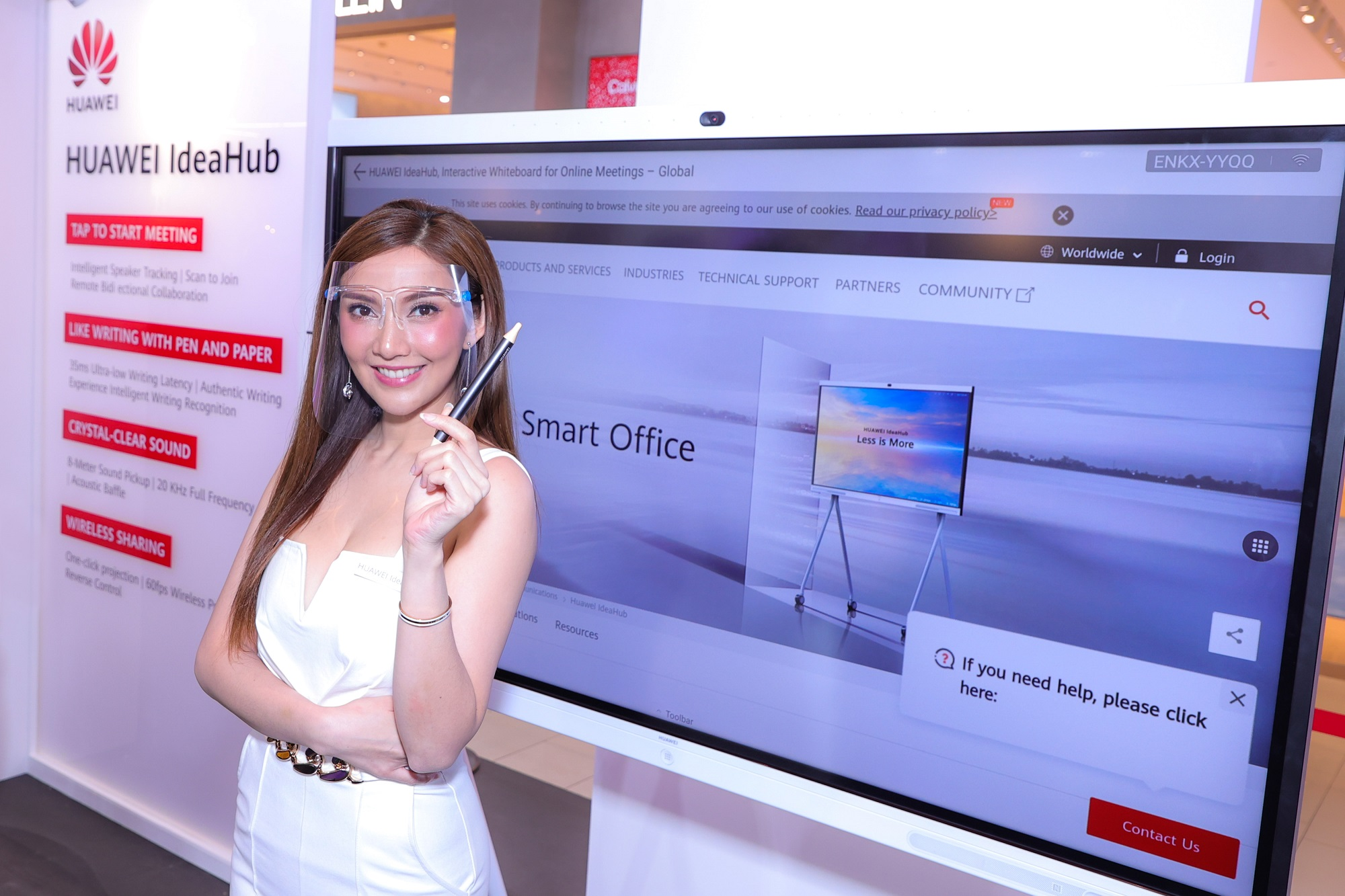 """Huawei and Synnex join forces to launch the latest innovation """"HUAWEI IdeaHub"""""""