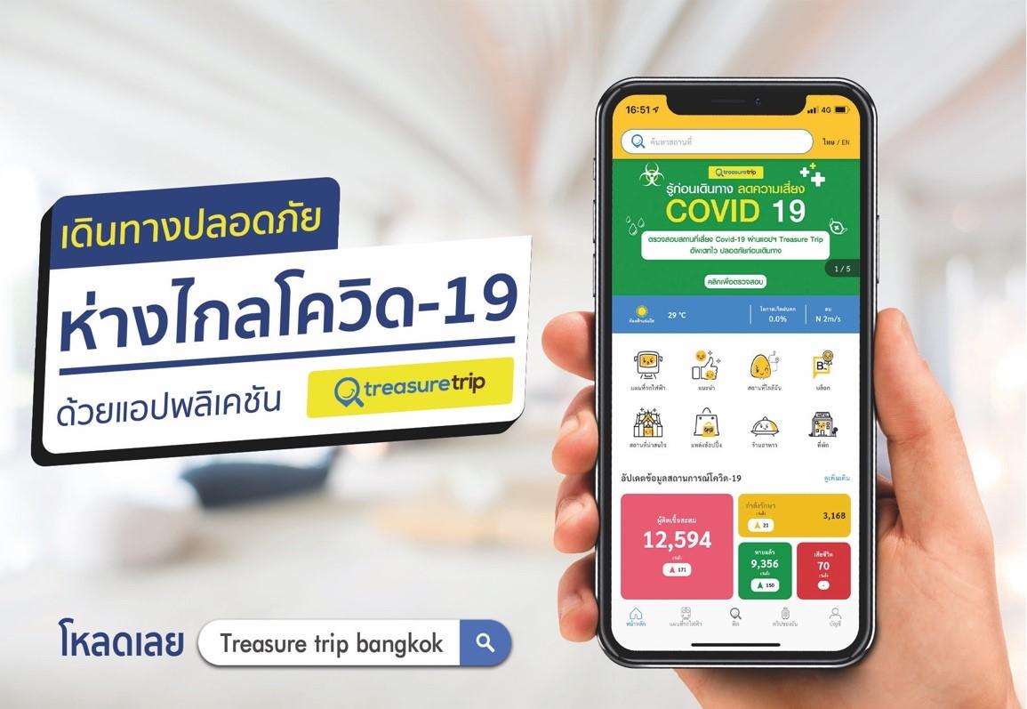 สวธ.ชวนนักท่องเที่ยวใช้แอปพลิเคชั่น Treasure Trip Bangkok และ Pattaya เรียนรู้วัฒนธรรมไทยแบบชีวิตวิถีใหม่ เดินทางสะดวกและง่ายห่างไกล โควิด-19