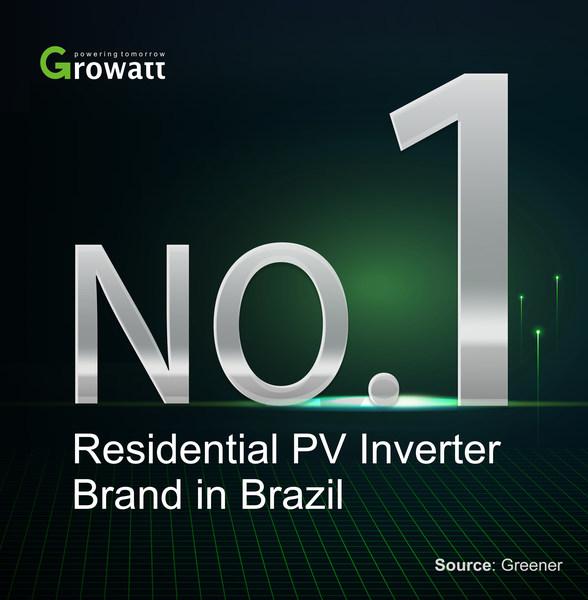 Growatt ขึ้นแท่นซัพพลายเออร์อินเวอร์เตอร์ระบบโซลาเซลล์ สำหรับที่พักอาศัยรายใหญ่สุดในบราซิล