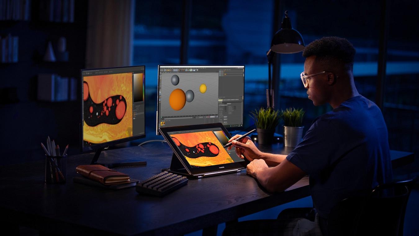 Huion เปิดตัวจอพร้อมปากกาความละเอียด 4K สองรุ่นใหม่ Kamvas Pro 16(4K) และ Kamvas Pro 16 Plus(4K)