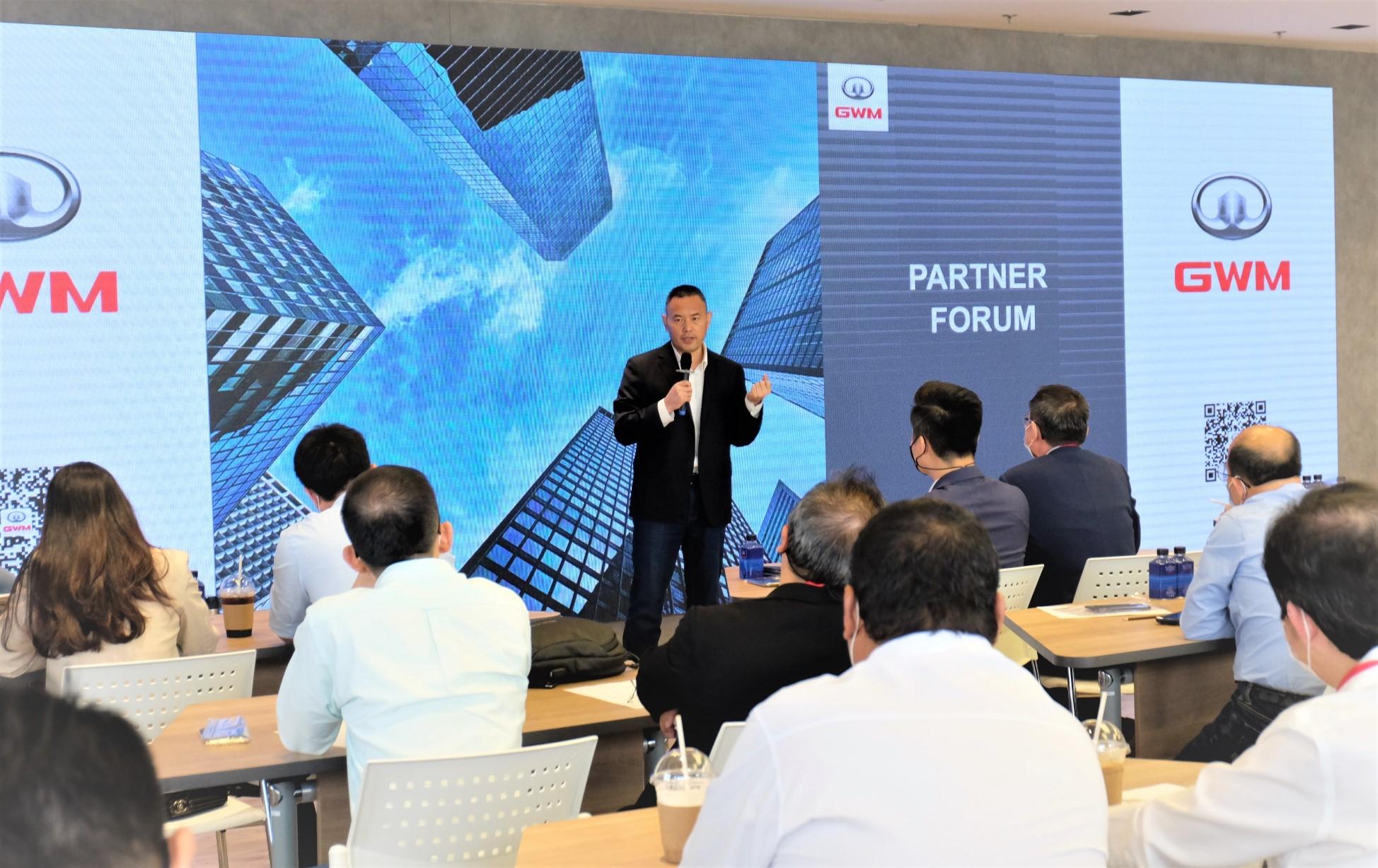 เกรท วอลล์ มอเตอร์ จัดงาน GWM Partner Forum ครั้งที่ 2 ร่วมพูดคุยพันธมิตรทางธุรกิจ ผลักดันกลยุทธ์ New User Experience